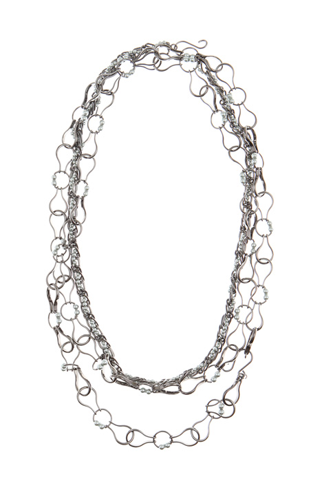 Metal necklace set Intrend