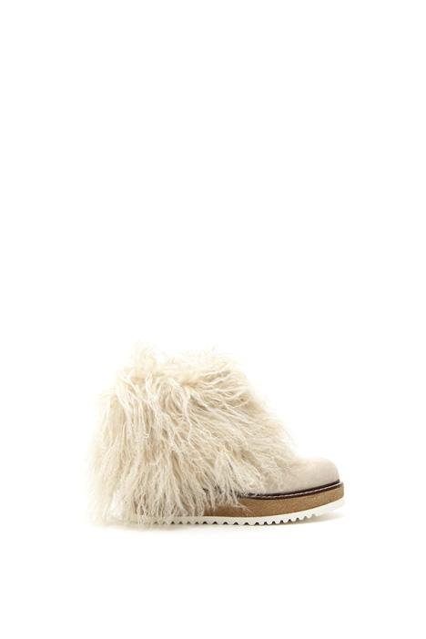 Mongolian fur boots Intrend