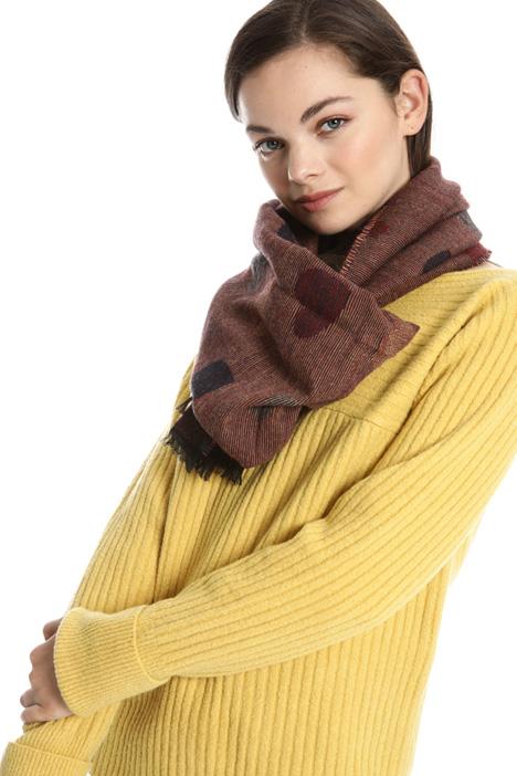 Sciarpa jacquard in misto lana Intrend