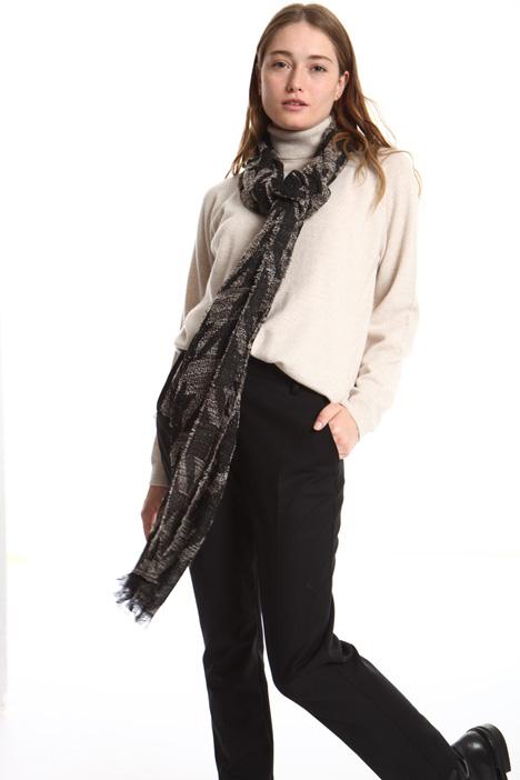 Foulard in filato misto lana Intrend