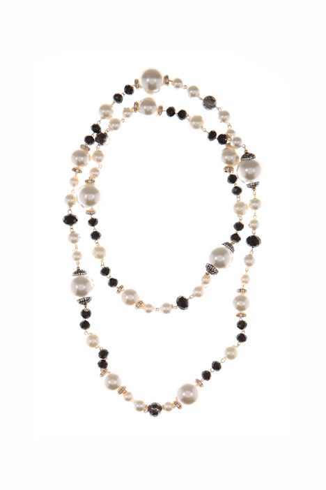 Double row necklace Intrend