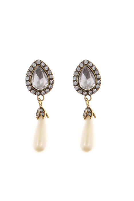 Metal drop earrings Intrend