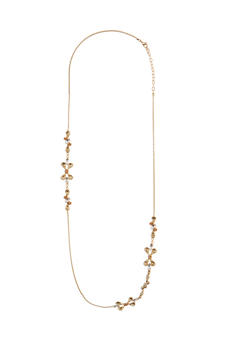 Chain necklace with rhinestone Intrend