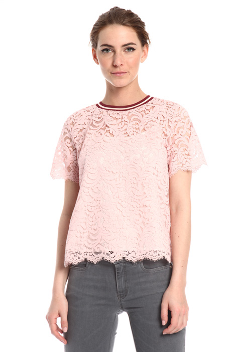 Cotton lace top Intrend