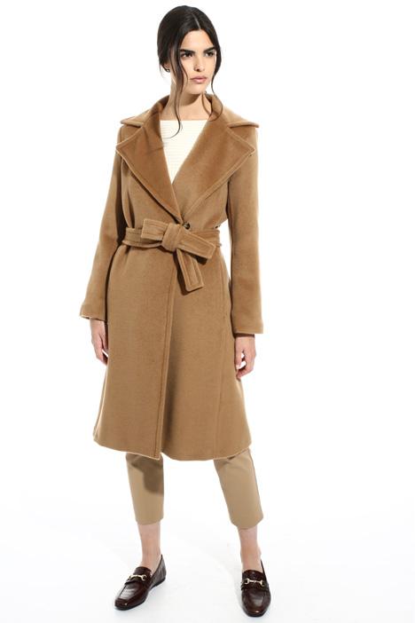 Wool beaver coat Intrend