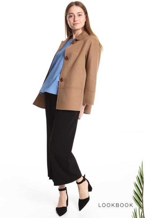 Cappotto corto con colletto Intrend