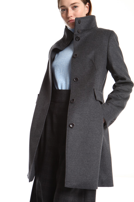 Flared wool coat Intrend