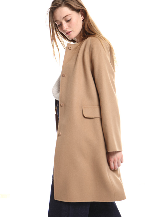 Single breasted wool coat Intrend
