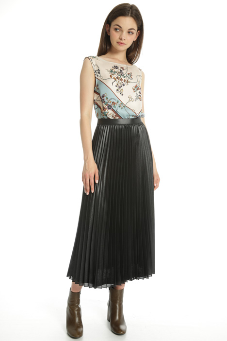 Shiny georgette skirt Intrend
