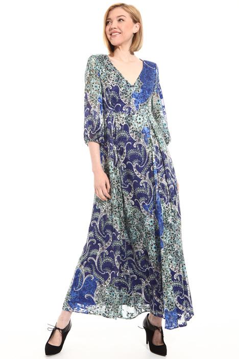 Viscose and silk dress Intrend