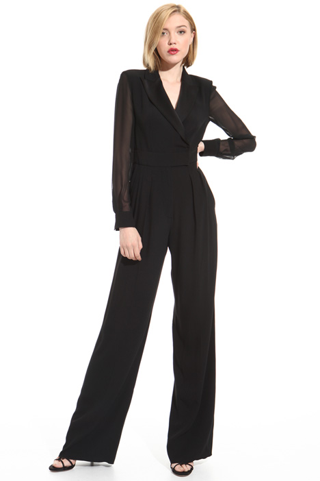 Triacetate and silk jumpsuit Intrend