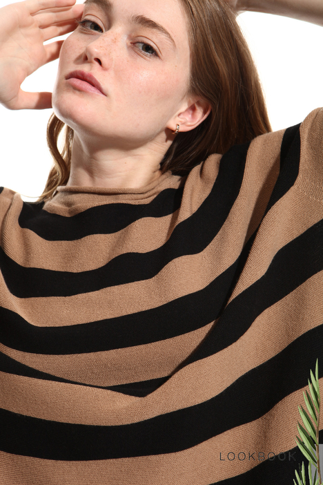 Maglia over in lana vergine Intrend