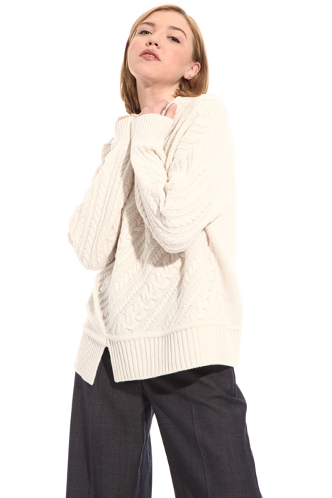 Wool yarn pullover Intrend