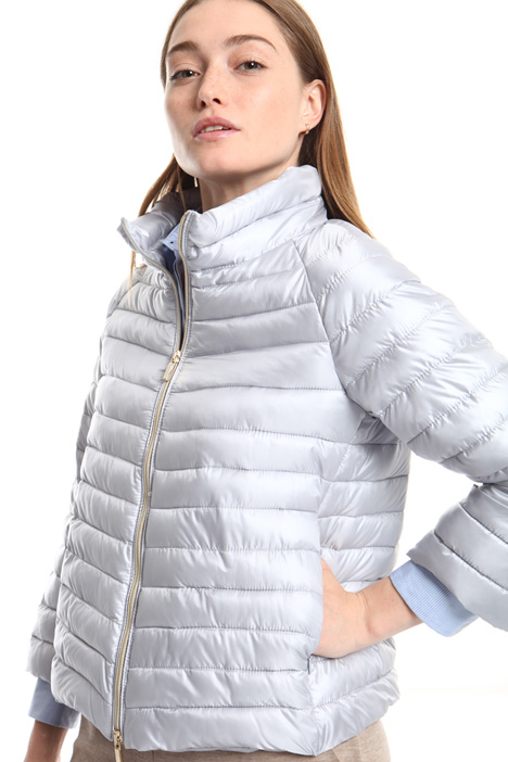Technical satin puffer jacket Intrend