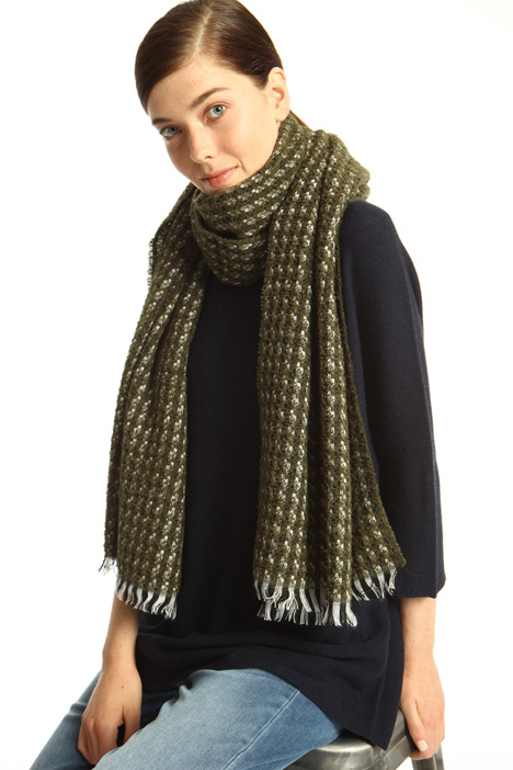 Sciarpa in lana bouclé Intrend