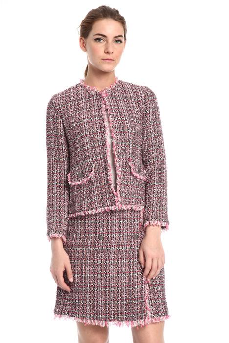 Lurex fabric jacket Intrend