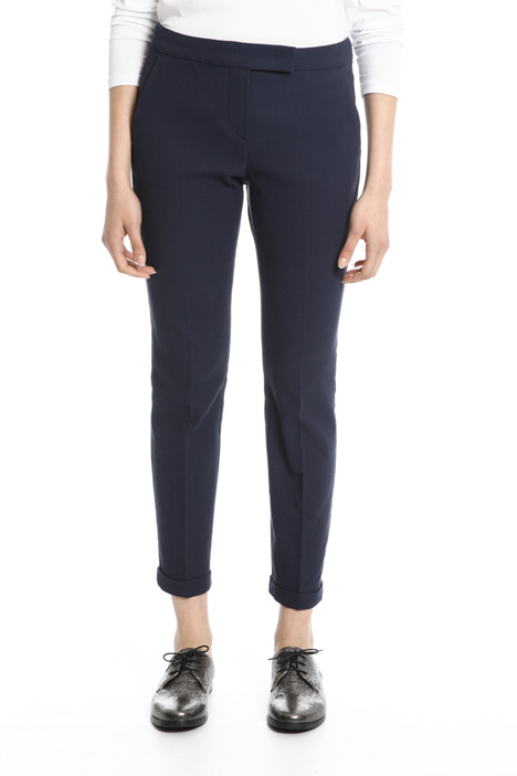 Fitted cotton trousers Intrend