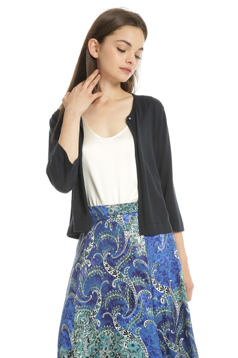 Jewel-style button cardigan Intrend