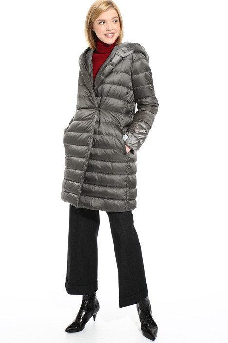 Reversible wrap down coat Intrend