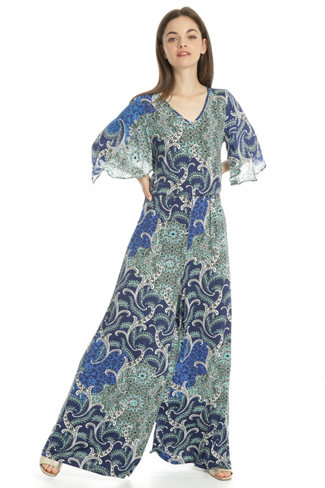 Printed jersey jumpsuit Intrend