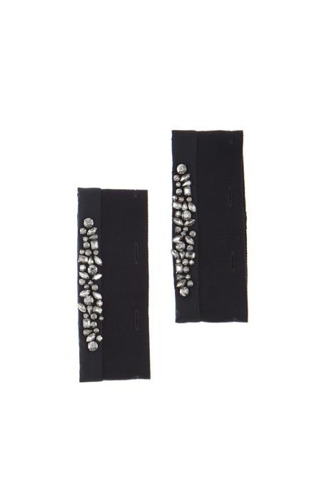 Silk and cotton cuffs Intrend
