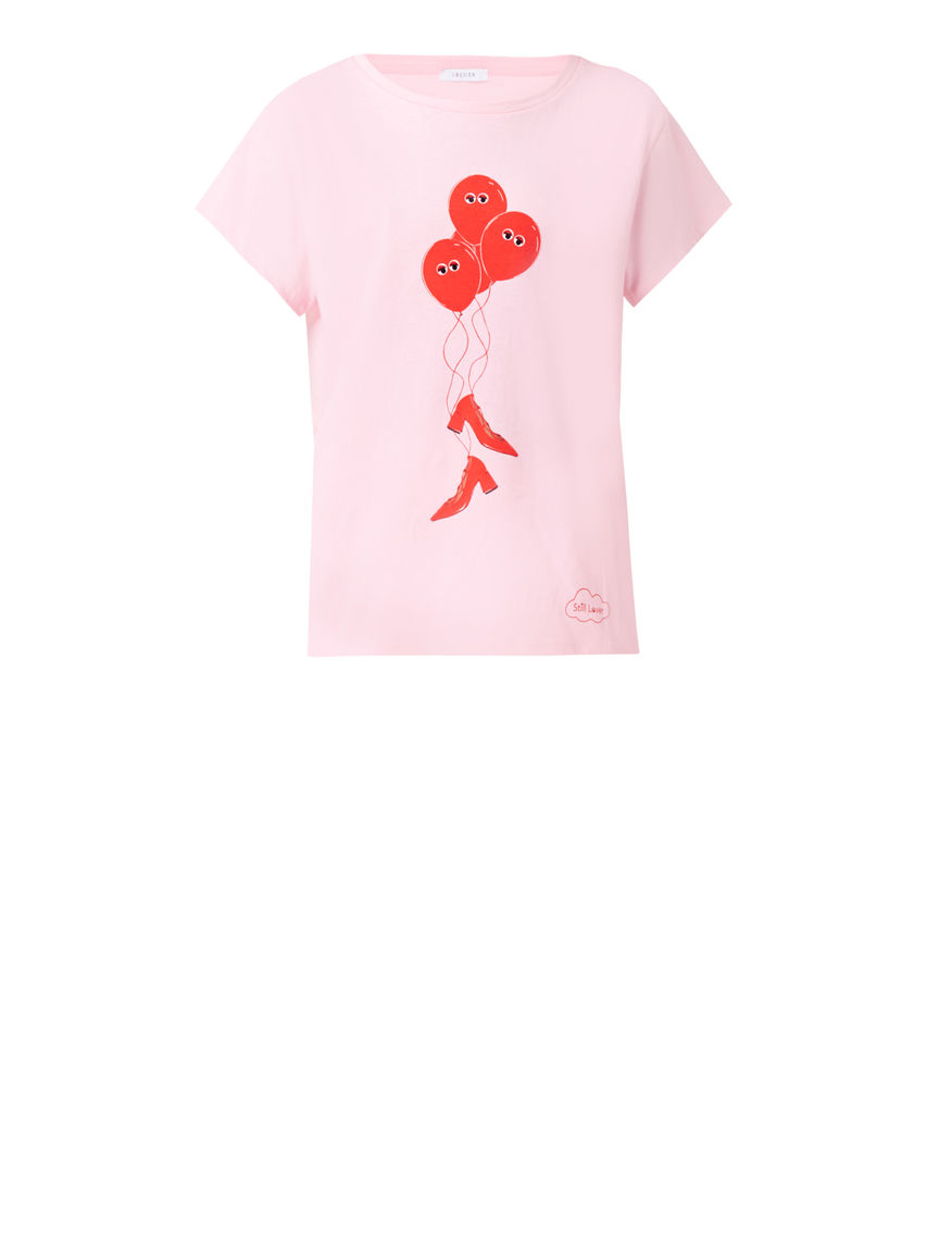 T-shirt stampata Sill Lover