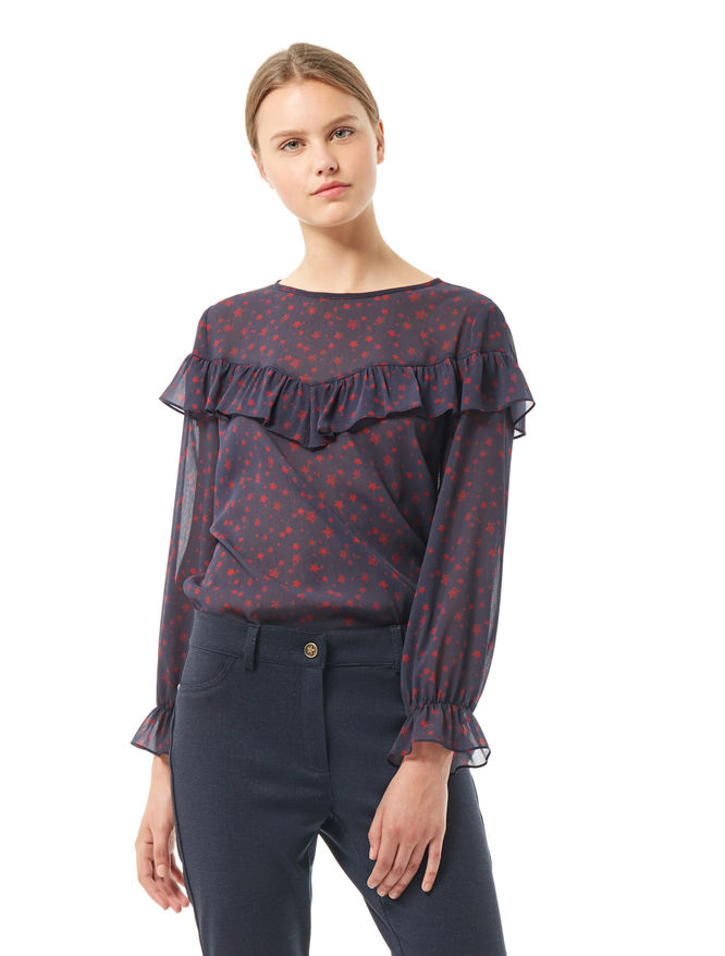 Frilled blouse iBlues