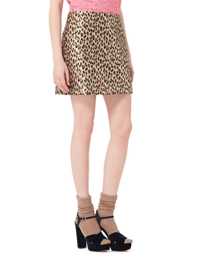 Animalier mini-skirt iBlues