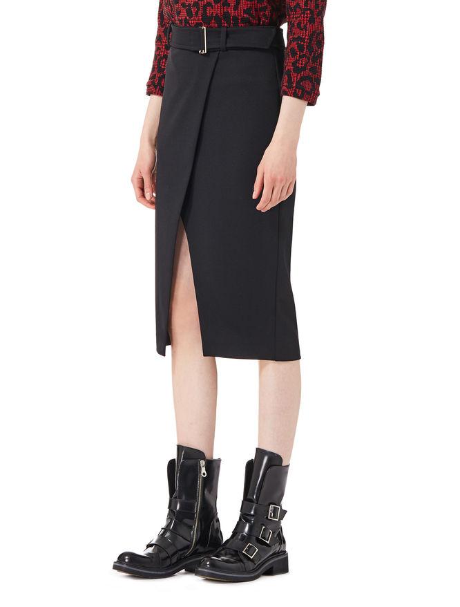 Skirt with slit iBlues
