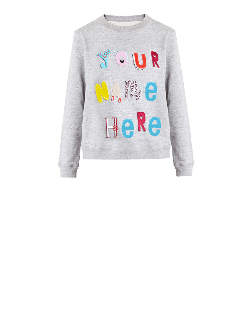 Customisable TypeYOU sweatshirt