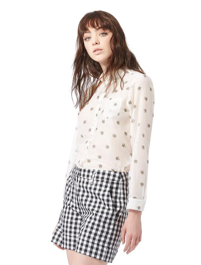 Silk blend shirt iBlues