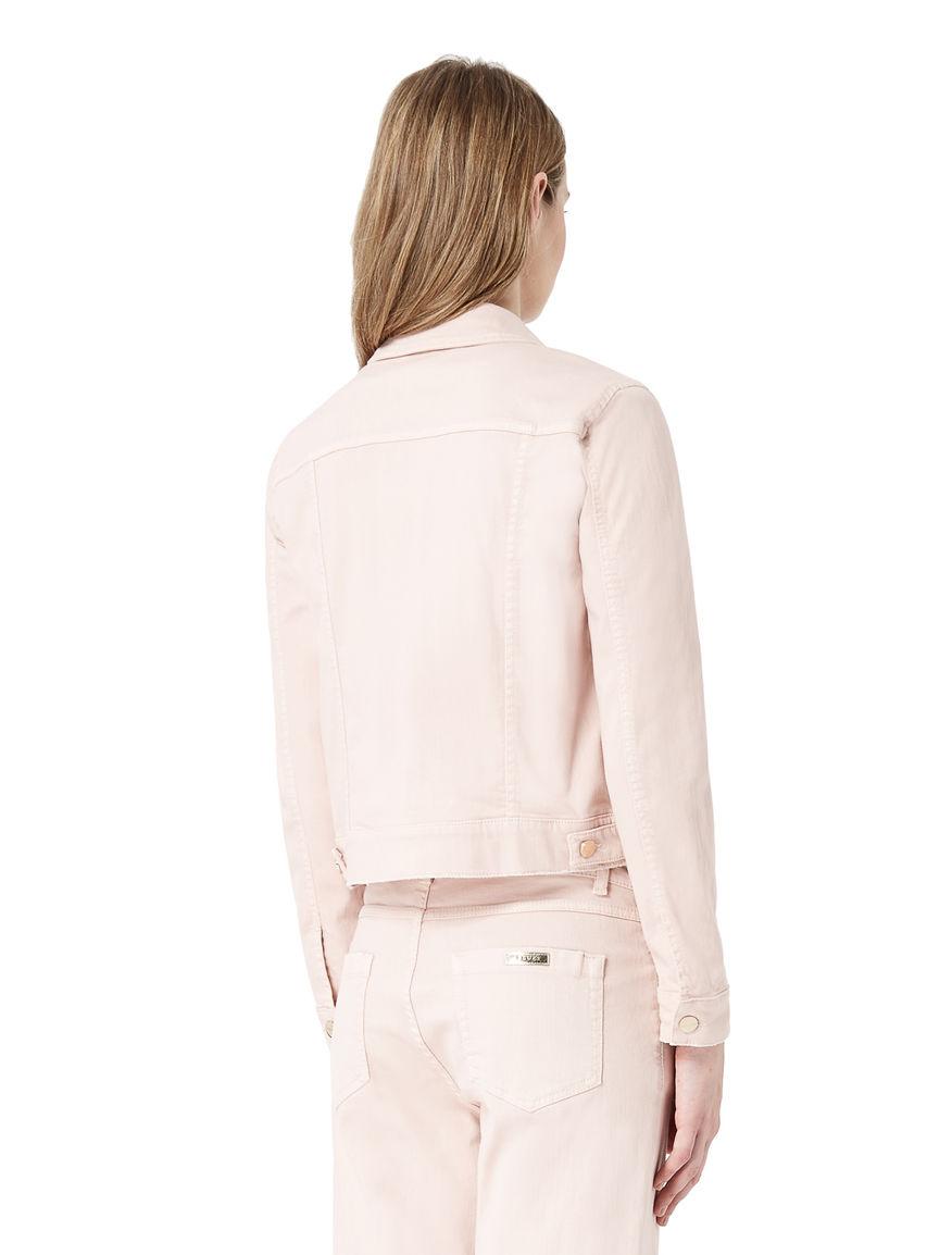 Denim-effect jacket