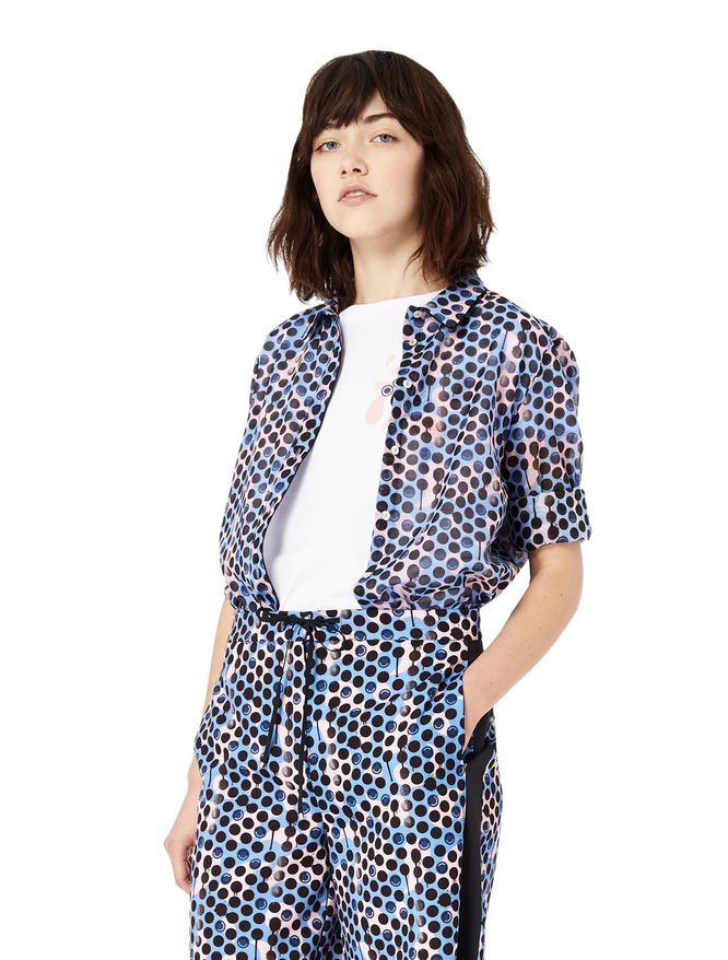 INDIE'S WALL patterned shirt iBlues