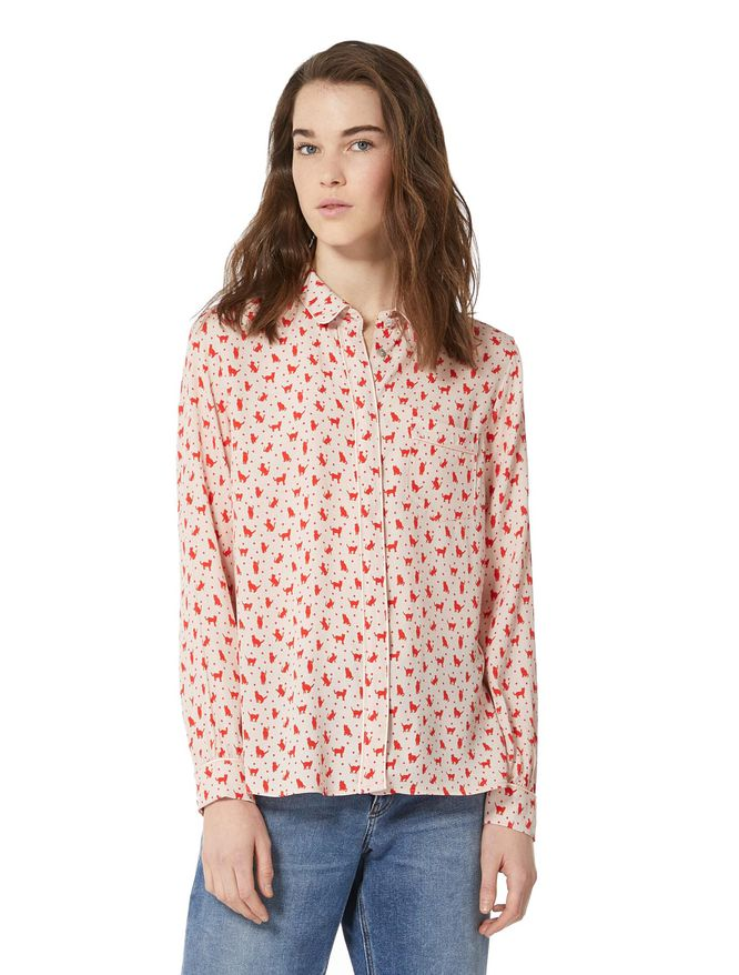 Camicia in crêpe iBlues