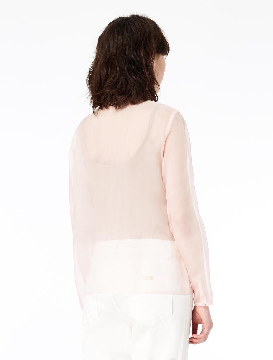 Camicia in pura seta