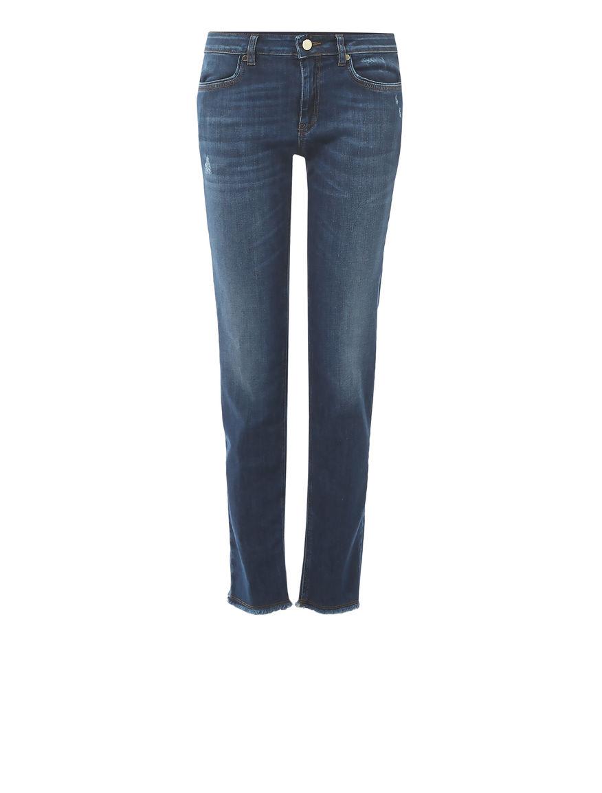 Jeans sfrangiati