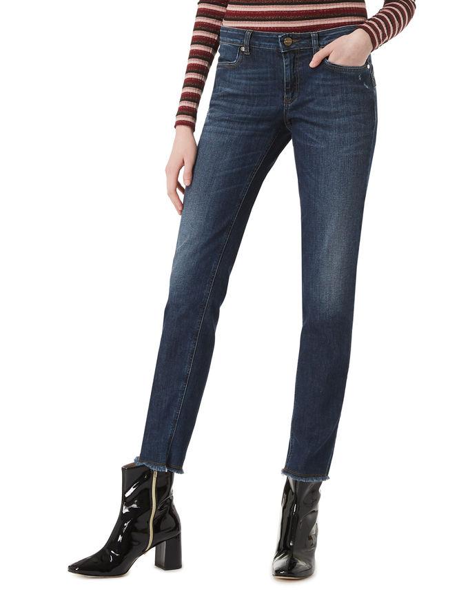 Jeans sfrangiati iBlues