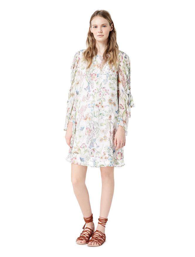 Pure silk dress iBlues
