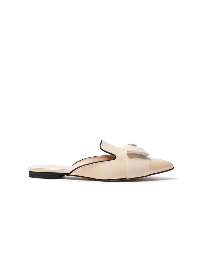 Satin sabot shoes iBlues