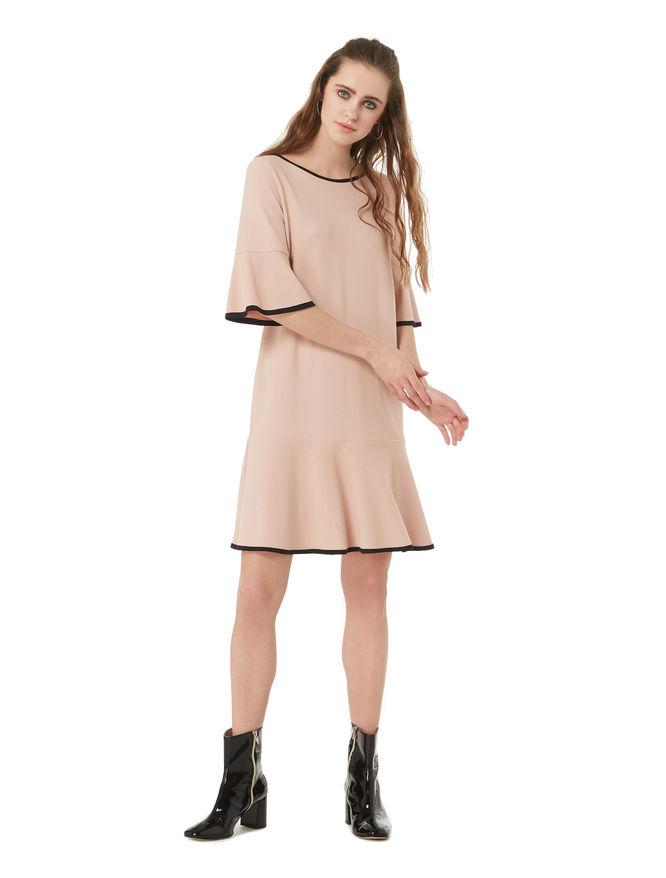 Dress with flounces iBlues