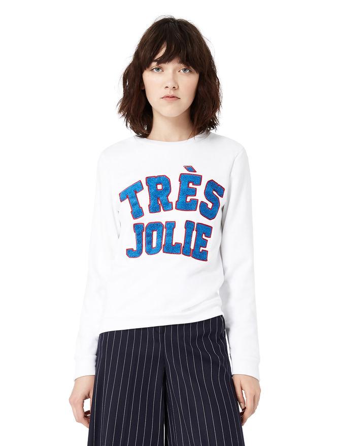 Embroidered sweatshirt iBlues