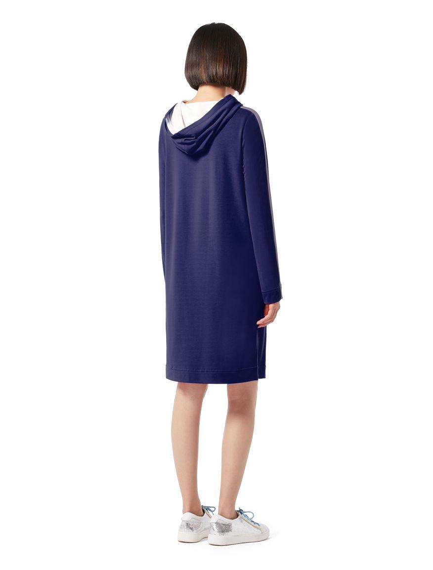 Dress with hood