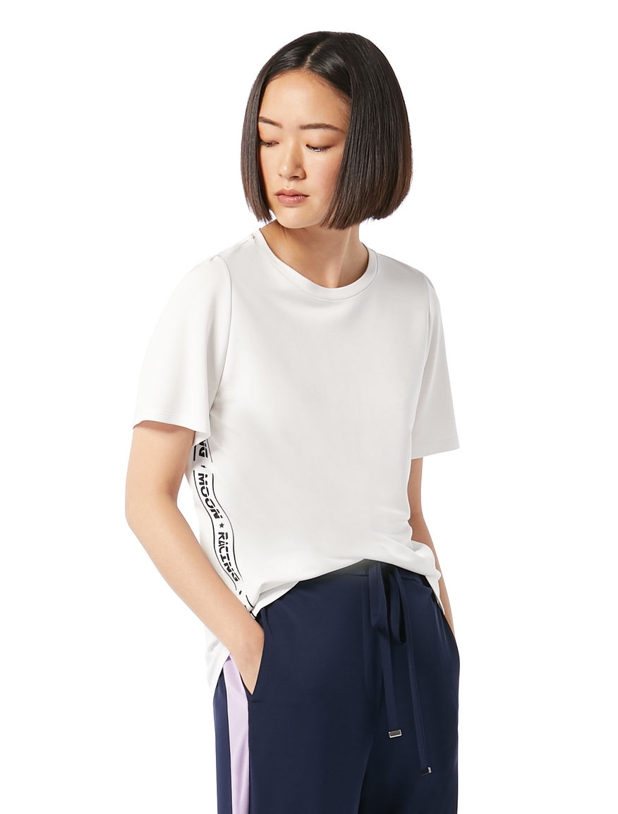 T-shirt with side strips