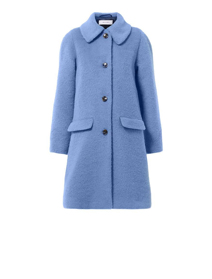 Alpaca and mohair coat