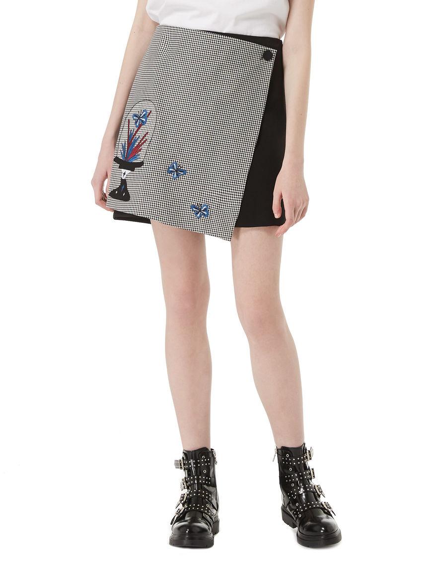 DREAMISSIMO wraparound miniskirt