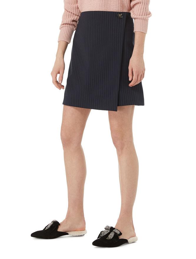 Wraparound miniskirt iBlues