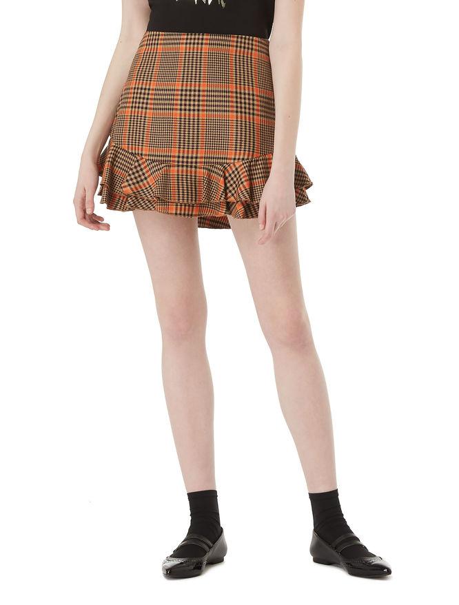 Miniskirt with flounce iBlues