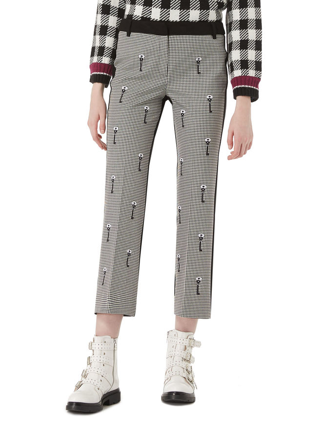 DREAMISSIMO cropped trousers iBlues