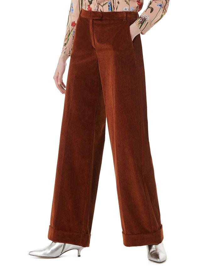 Velvet trousers iBlues