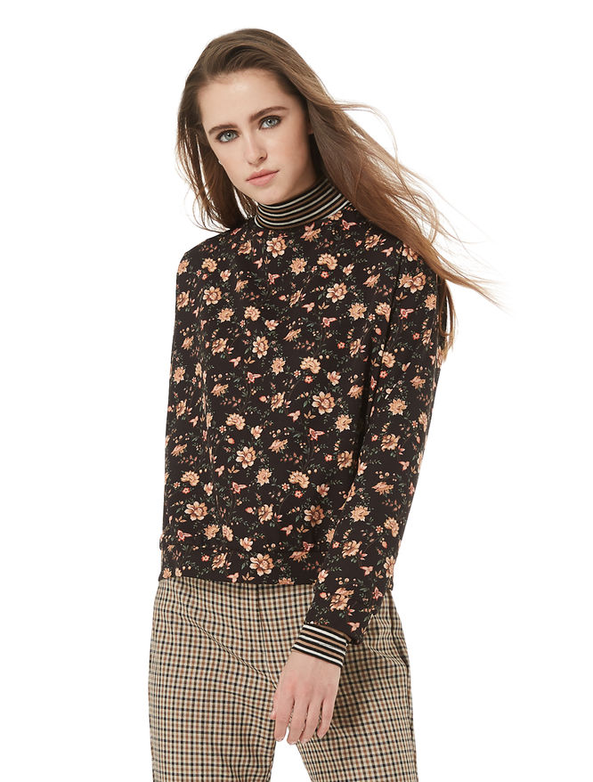 Floral blouse iBlues